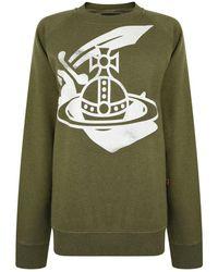 Vivienne Westwood Anglomania - Graphic Print Sweatshirt - Lyst