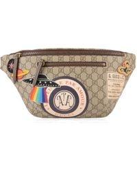 Gucci - Gg Supreme Patch Belt Bag - Lyst