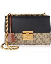 Gucci - Padlock Gg Supreme Shoulder Bag - Lyst