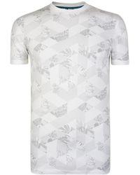 Ted Baker - Tots Print T Shirt - Lyst