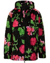 Moncler - Jade Floral Jacket - Lyst