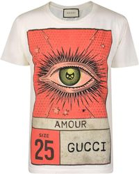 Gucci - Amour T Shirt - Lyst