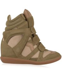 Étoile Isabel Marant - Wedge Trainers - Lyst