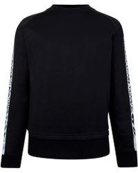 Just Cavalli - Leopard Print Tape Sweatshirt - Lyst