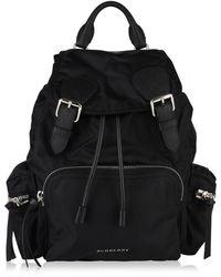 """Burberry - """"the Rucksack"""" Nylon Backpack - Lyst"""