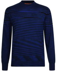 Missoni - Long Sleeve Striped T Shirt - Lyst