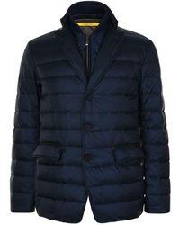Canali - Padded Blazer Coat - Lyst