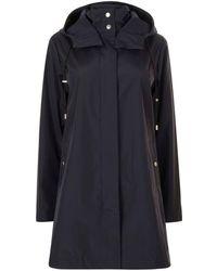Emporio Armani - Long Hooded Jacket - Lyst
