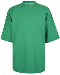 Palm Angels - Oversized Logo T-shirt - Lyst