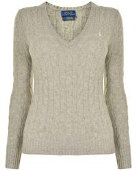 Polo Ralph Lauren - Cable Cotton Knit Jumper - Lyst