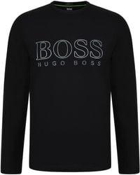 BOSS Athleisure - Reflective Logo T Shirt - Lyst
