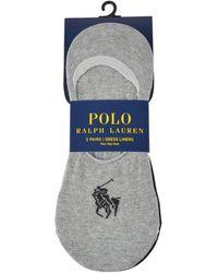 Polo Ralph Lauren - No Show Socks - Lyst