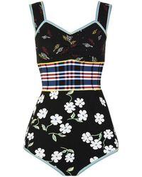 Marni - Floral Bodysuit - Lyst