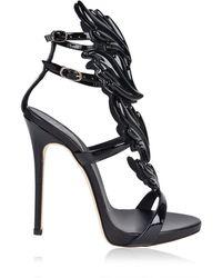 84cc2ca866de Giuseppe Zanotti - Cruel Leather Sandal Heels - Lyst