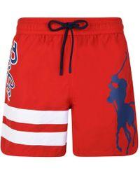 Polo Ralph Lauren - Large Logo Swim Shorts - Lyst