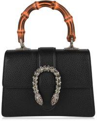 c6b8c2da2e95 Gucci Dionysus Small Suede Shoulder Bag in Black - Lyst
