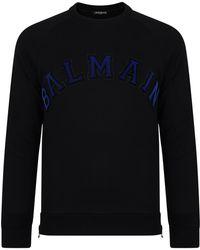 Balmain - Logo Sweatshirt - Lyst