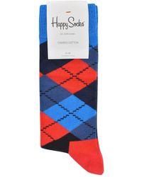 Happy Socks - Argyle Socks - Lyst
