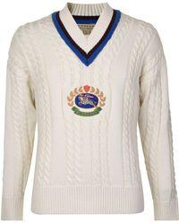 eea4d248cdbe Lyst - Dolce   Gabbana Bee Crest-embroidered Cotton-blend Sweatshirt ...