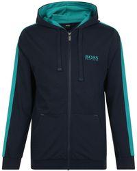BOSS by Hugo Boss - Authentic Zip Sweatshirt - Lyst