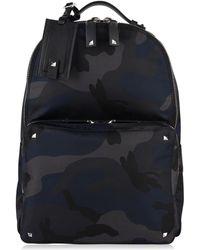 Valentino - Camo Logo Backpack - Lyst