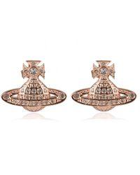 Vivienne Westwood - Minnie Bas Earrings - Lyst