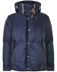 Moncler - Tri Trim Quilted Coat - Lyst
