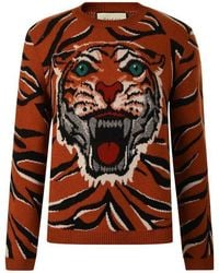 cbea0a651 Men's Gucci Sweaters and knitwear Online Sale - Lyst