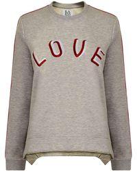 Zoe Karssen - Love Sweatshirt - Lyst