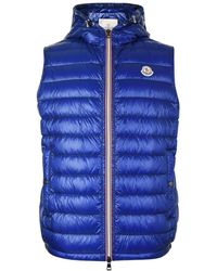 Moncler - Gien Quilted Hooded Gilet - Lyst