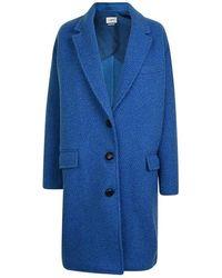 Étoile Isabel Marant Gimi Coat - Blue