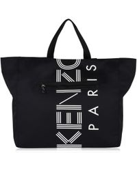 KENZO - Logo Sport Shopper Bag - Lyst