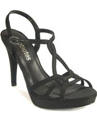 Footnotes - Strappy Sandal - Lyst
