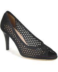 275 Central - Perforated Suede Pump - Lyst