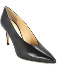 275 Central - Leather Tapered Toe Pump - Lyst