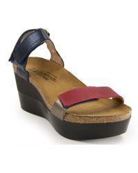 Naot - Wedge Sandal - Lyst