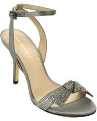 Pelle Moda - Leather Open Toe Sandal - Lyst