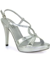 Footnotes - Strappy Heeled Sandal - Lyst