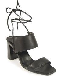 Footnotes - Leg Wrap Sandal - Lyst