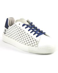 D.A.T.E. Originals - Perforated Glitter Sneakers - Lyst