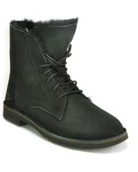 Ugg | Shearling Suede Short Boot | Lyst