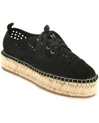 J/Slides - Perforated Espadrille Sneaker - Lyst