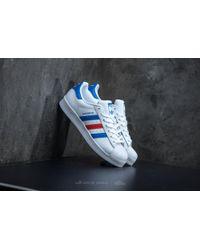 lyst adidas originali adidas superstar ftw bianco / blu / rosso