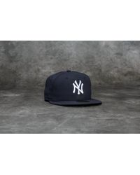 Lyst - Ktz 59fifty New York Yankees Fitted Cap in Blue for Men bcc12ca4bbed