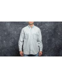 Footshop - Cheap Monday Conduct Destroy Shirt Ultra Wash + Destroy - Lyst
