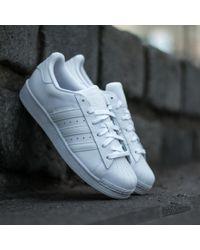 best service 93e47 b5466 adidas Originals - Adidas Superstar Foundation Ftw White  Ftw White  Ftw  White - Lyst