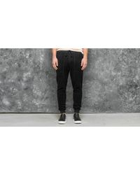 Stampd - Reverse Terry Pant Black - Lyst