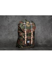 Herschel Supply Co. - Little America Backpack Woodland Camo/ Black/ White - Lyst