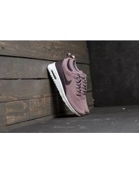 Nike - Wmns Air Max Thea Taupe Grey/ Port Wine-white - Lyst