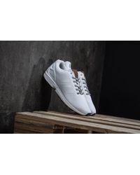 adidas Originals - Adidas Zx Flux Ftw White/ Ftw White - Lyst
